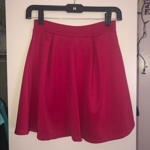 Pink Skirt. Charlotte Russe. XS. High waisted.